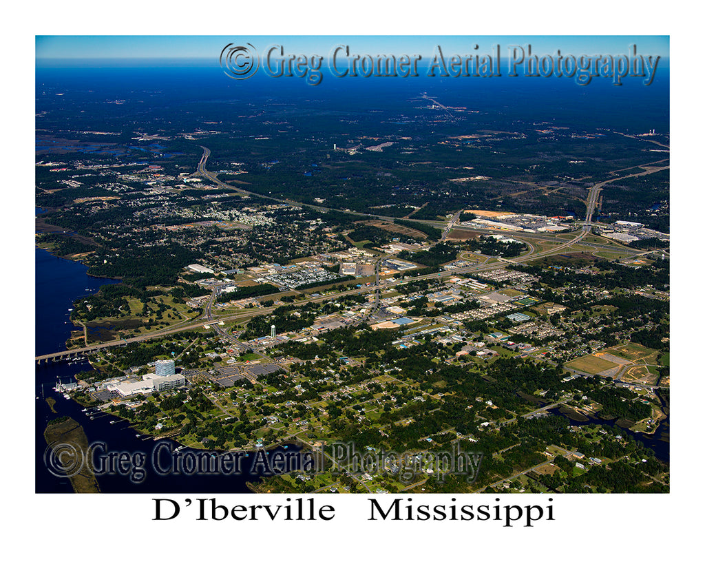 Aerial Photo of D'Iberville, Mississippi