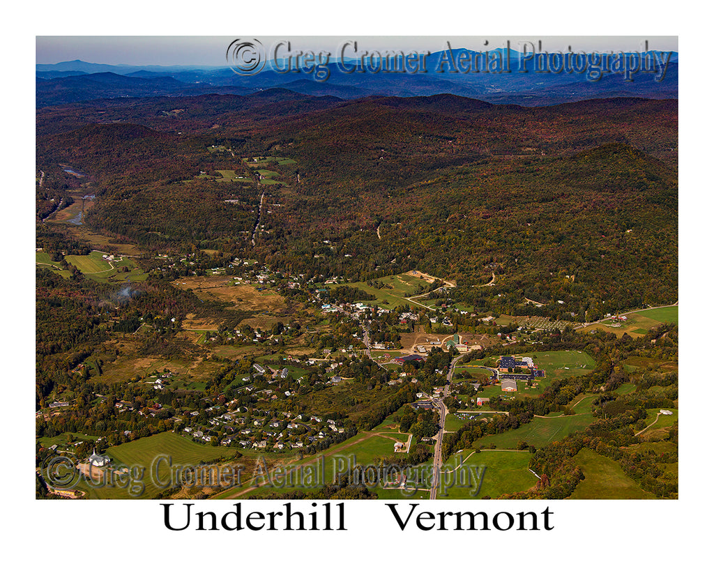 Aerial Photo of Underhill, Vermont