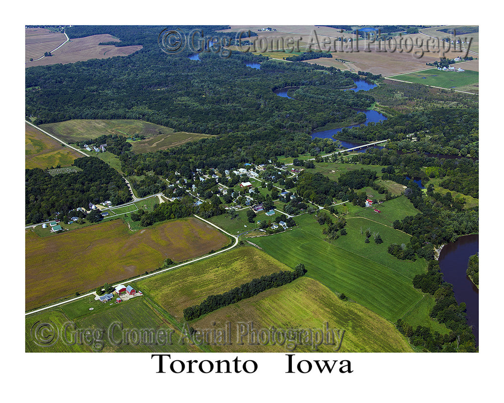 Aerial Photo of Toronto Iowa