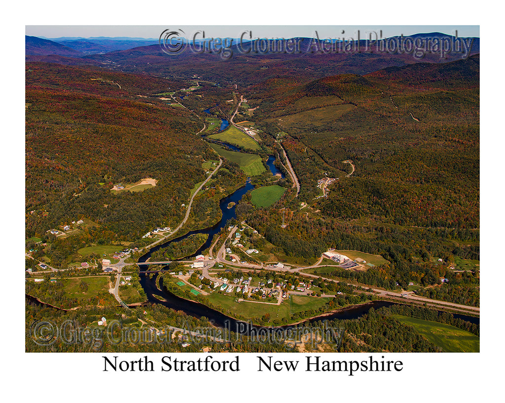 Aerial Photo of North Stratford, New Hampshire