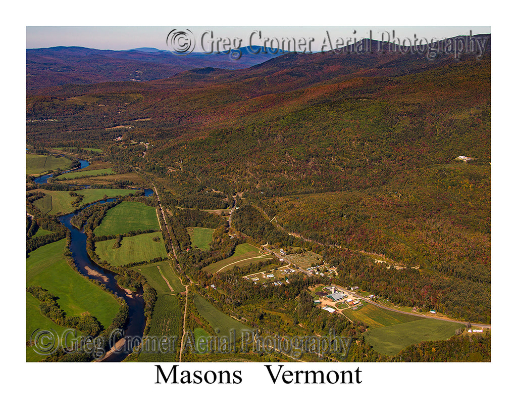 Aerial Photo of Masons, Vermont
