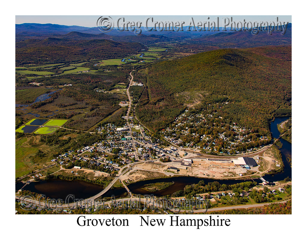 Aerial Photo of Groveton, New Hampshire