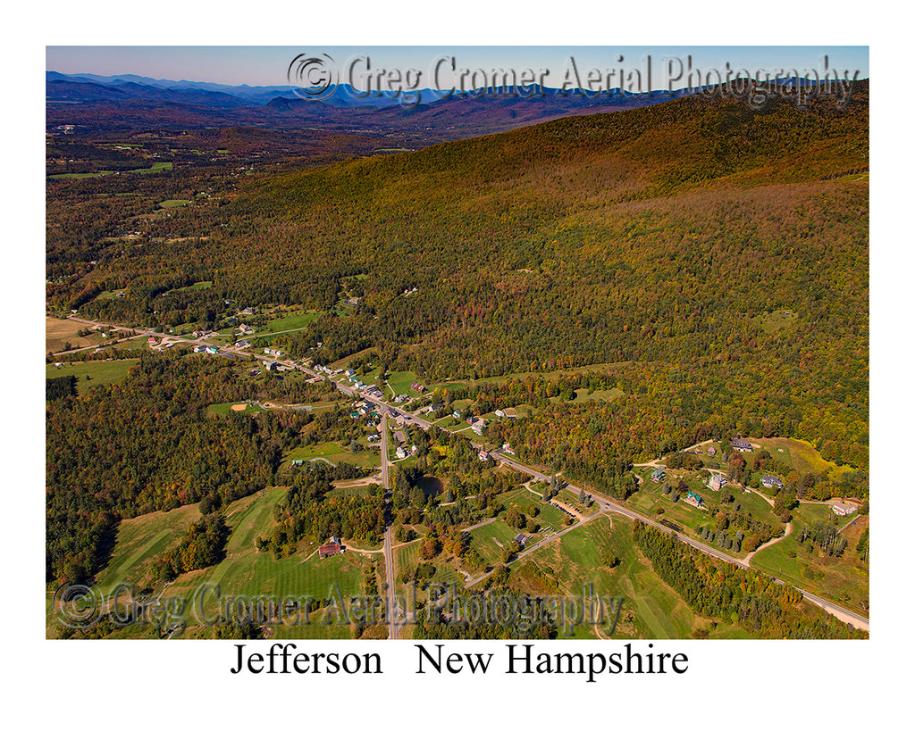 Aerial Photo of Jefferson, New Hampshire