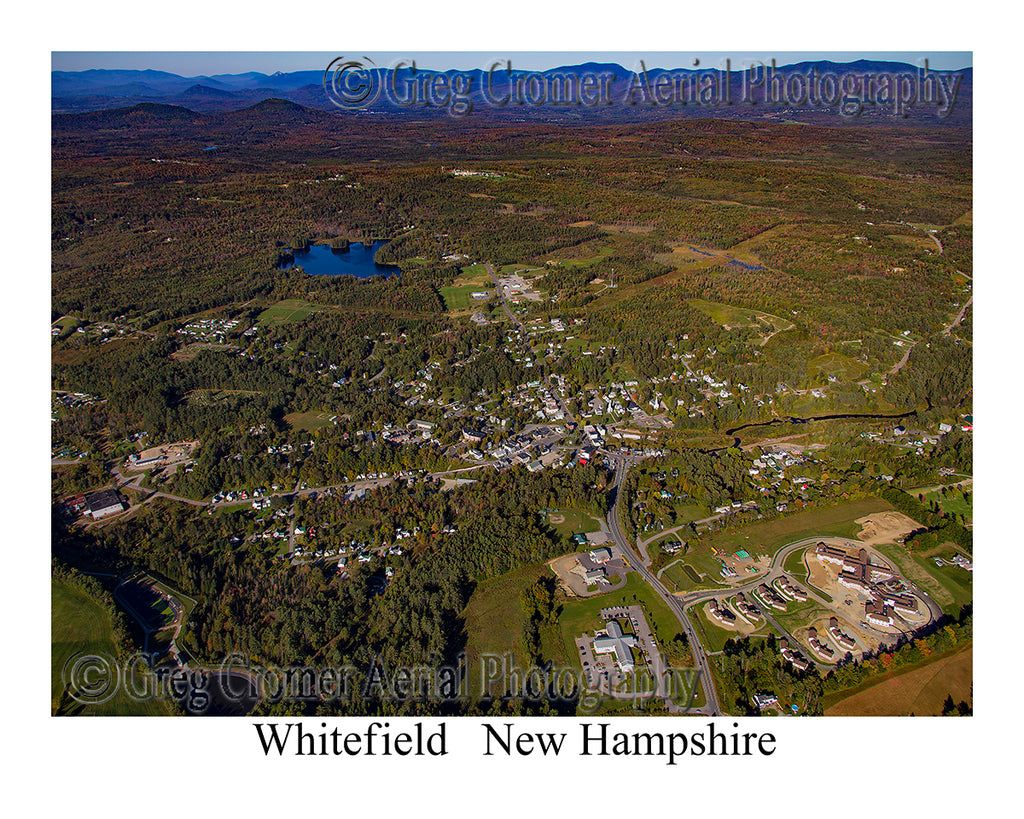 Aerial Photo of Whitefield, New Hampshire