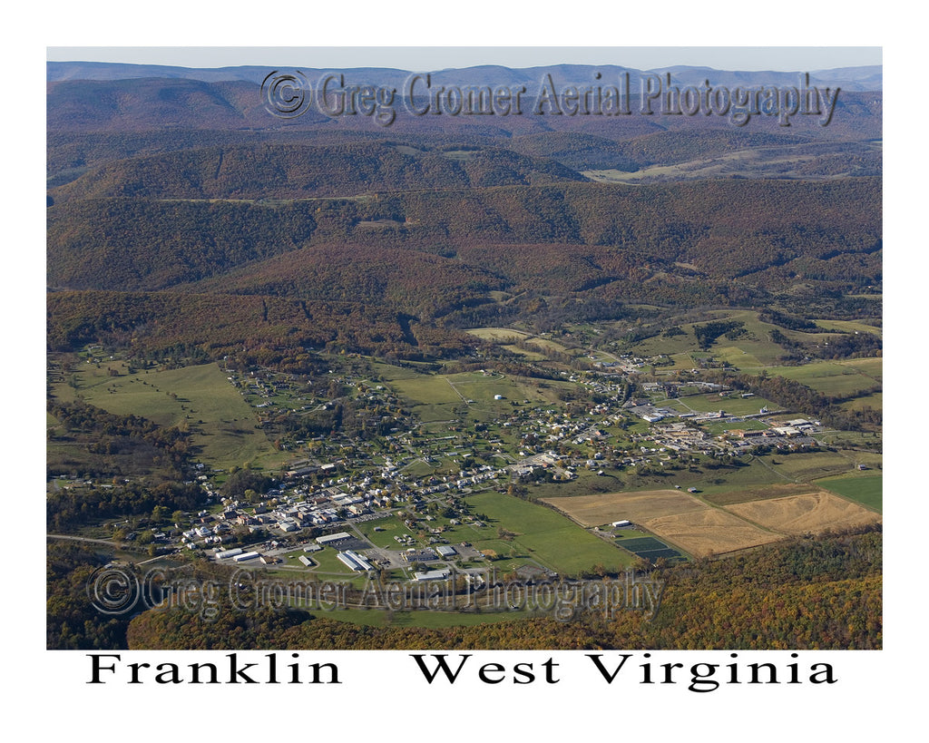 Aerial Photo of Franklin, West Virginia