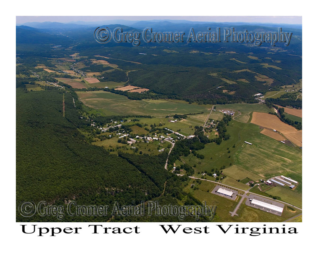 Aerial Photo of Upper Tract, West Virginia