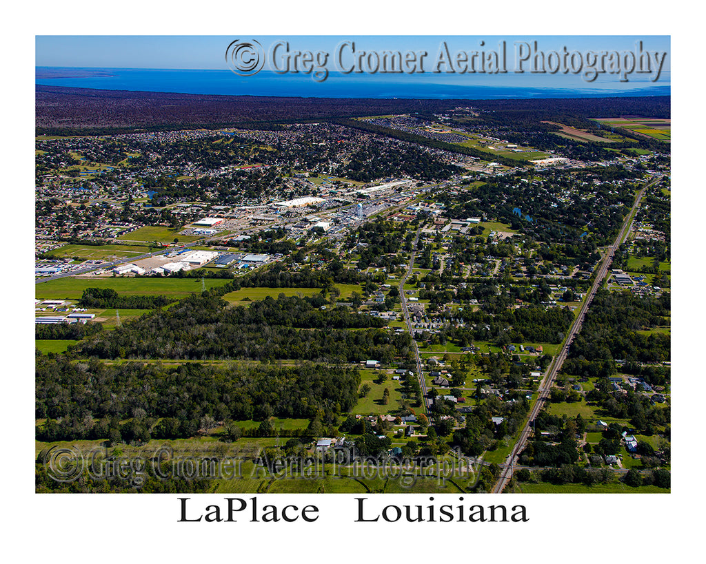 Aerial Photo of LaPlace, Louisiana