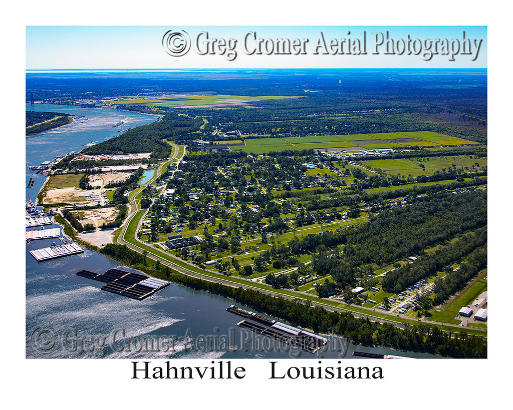 Aerial Photo of Hahnville, Louisiana