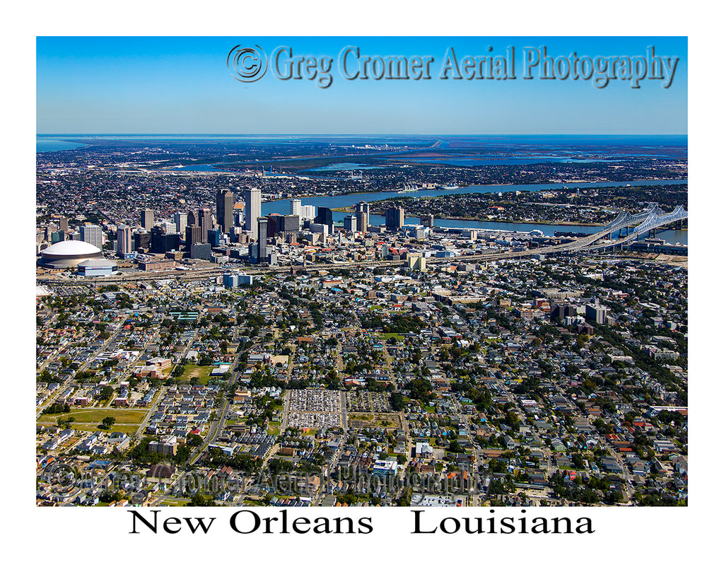 Aerial Photo of New Orleans, Louisiana