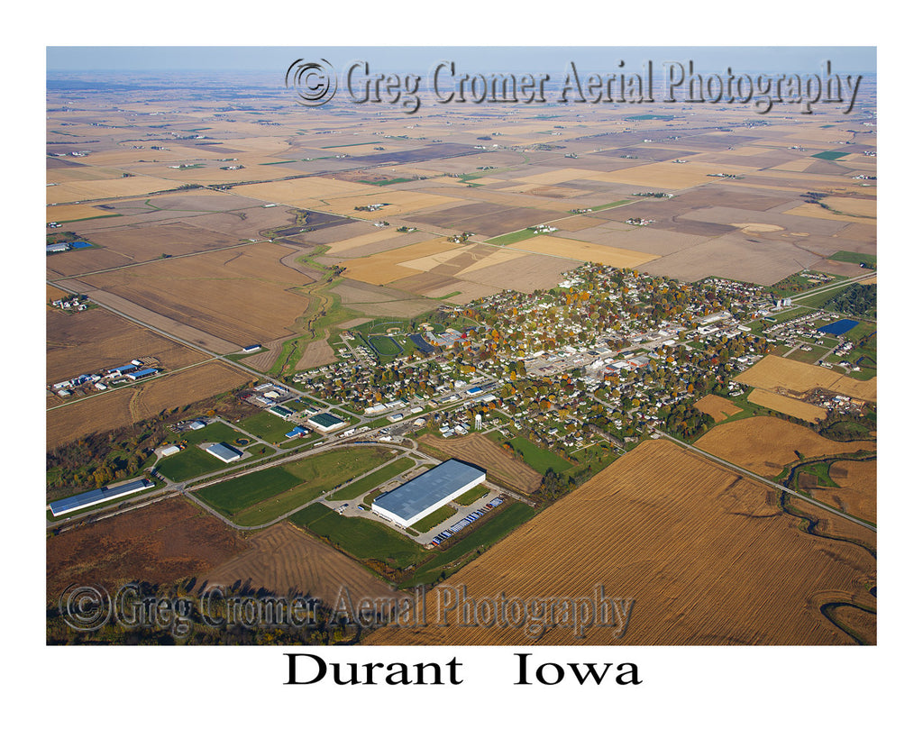 Aerial Photo of Durant Iowa