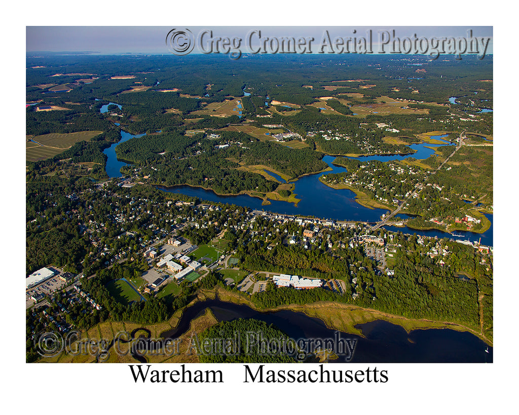 Aerial Photo of Wareham, Massachusetts