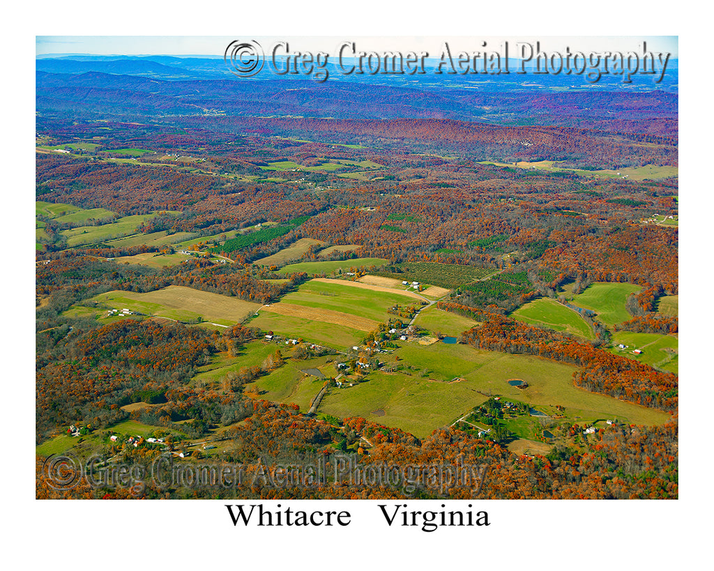 Aerial Photo of Whitacre, Virginia