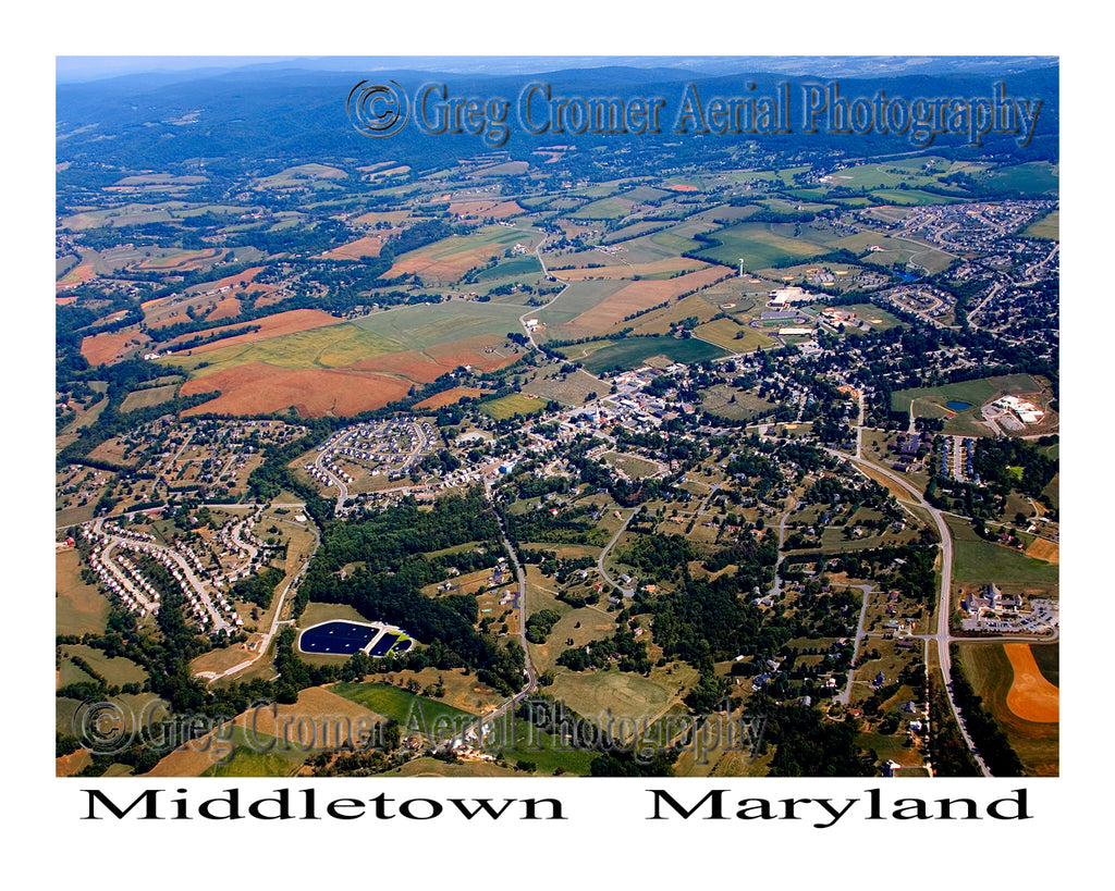 Aerial Photo of Middletown, Maryland