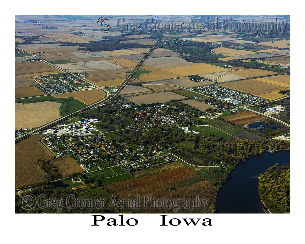 Aerial Photo of Palo Iowa