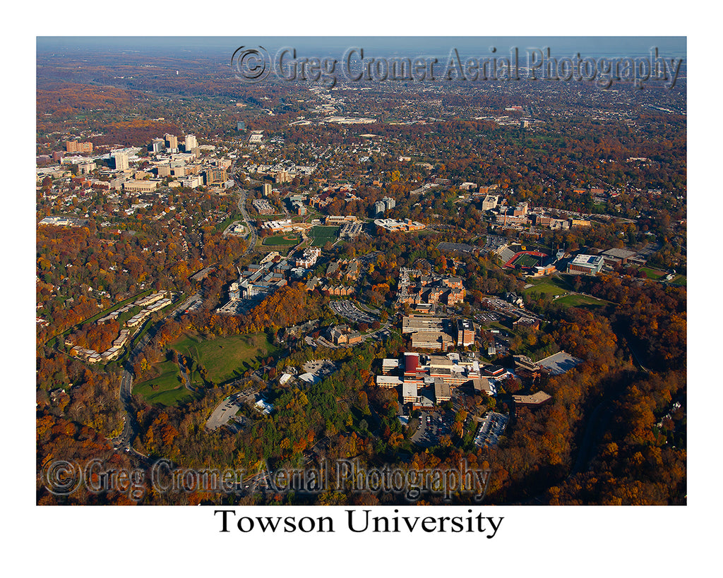 Aerial Photo of Towson State University - Maryland