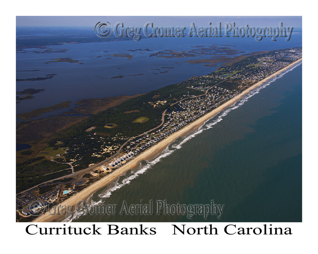 Aerial Photo of Currituck Banks, North Carolina
