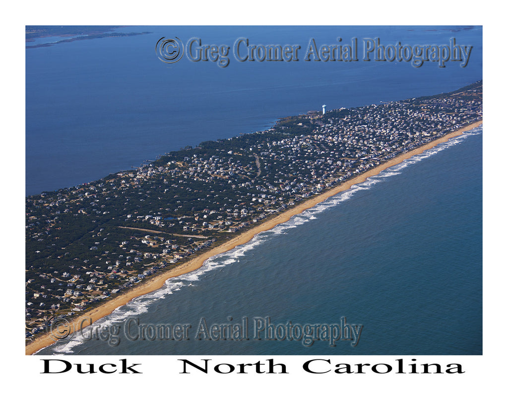 Aerial Photo of Duck, North Carolina