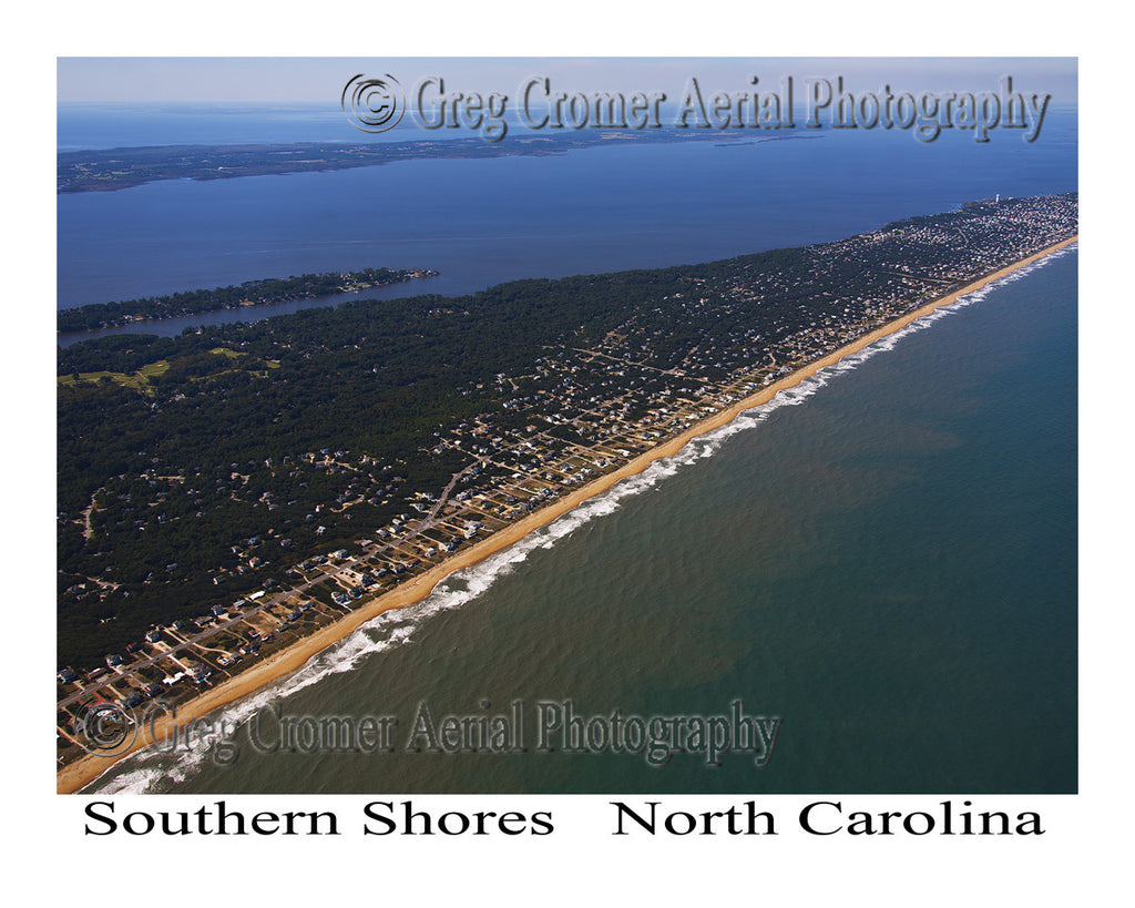 Aerial Photo of Southern Shores, North Carolina
