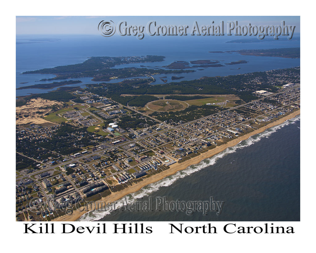 Aerial Photo of Kill Devil Hills, North Carolina