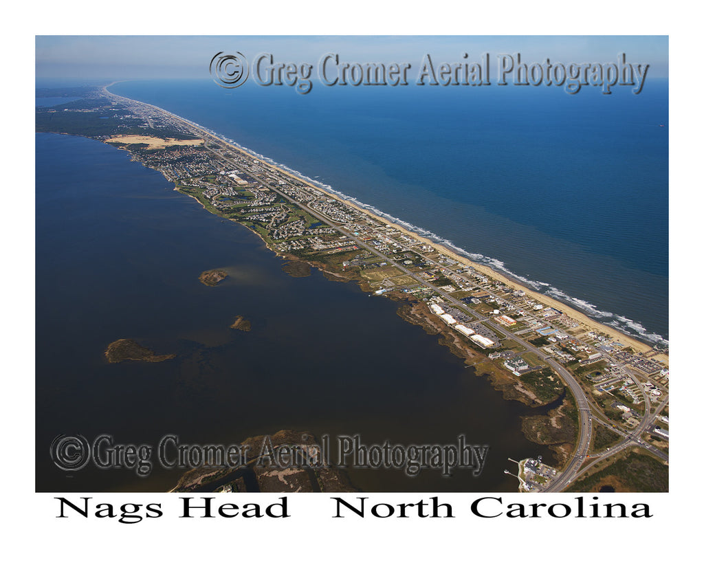 Aerial Photo of Nags Head, North Carolina