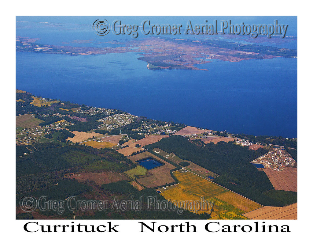Aerial Photo of Currituck, North Carolina