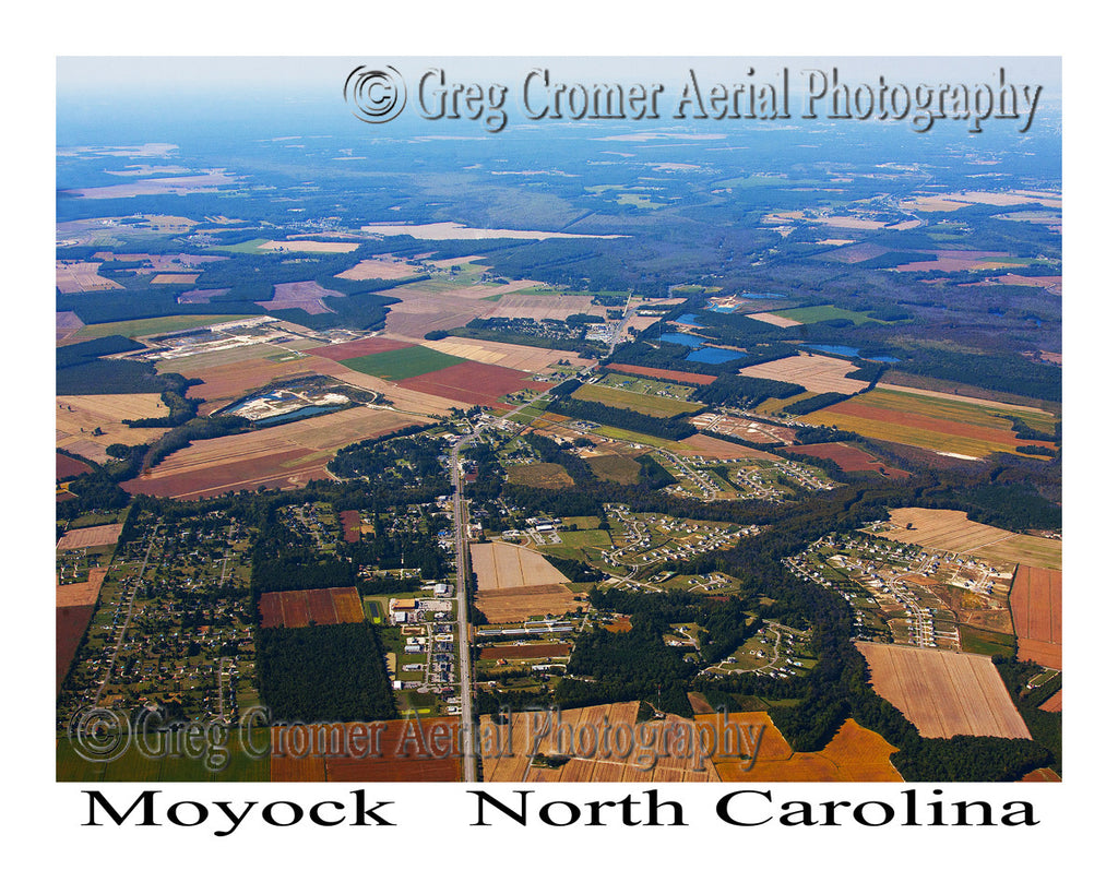 Aerial Photo of Moyock, North Carolina