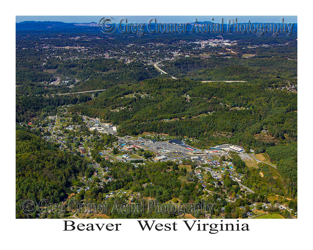 Aerial Photo of Beaver, West Virginia