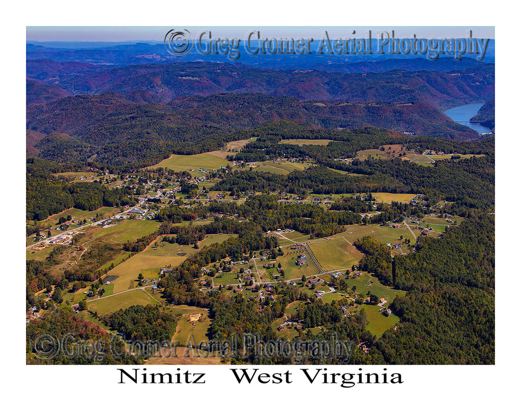 Aerial Photo of Nimitz, West Virginia