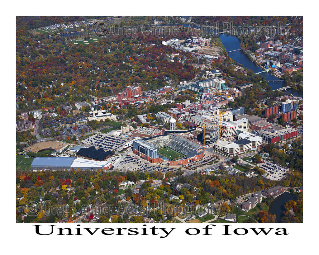 Aerial Photo of University of Iowa