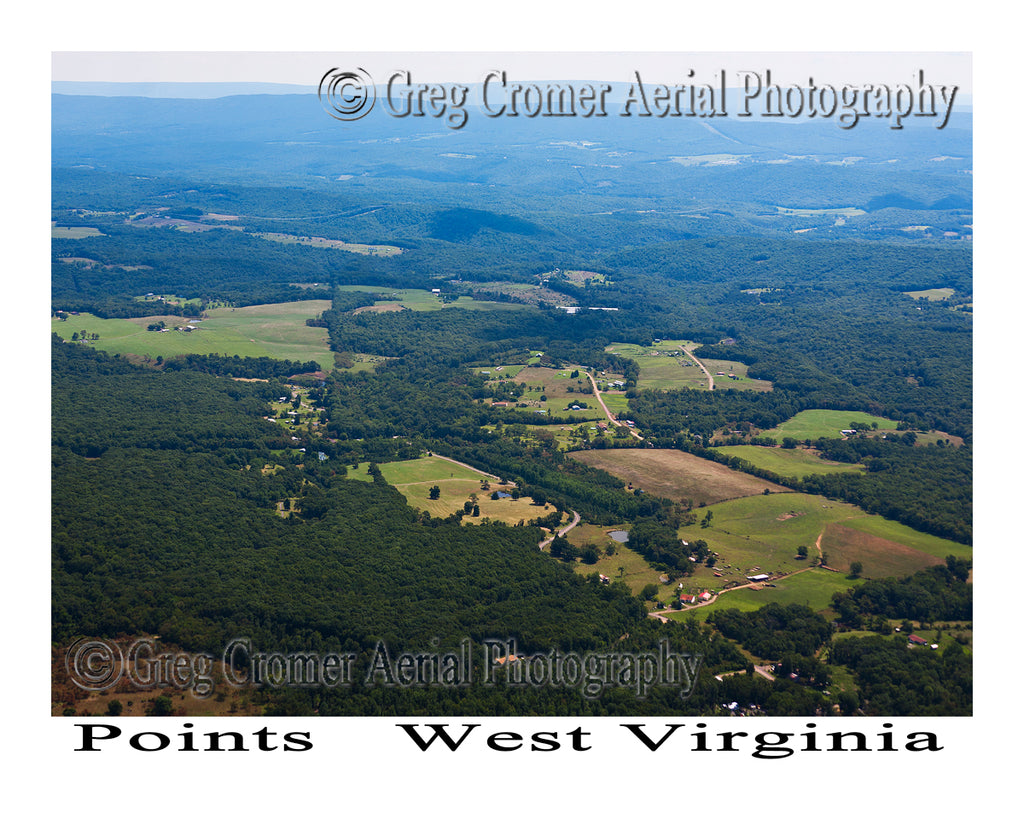 Aerial Photo of Points, West Virginia