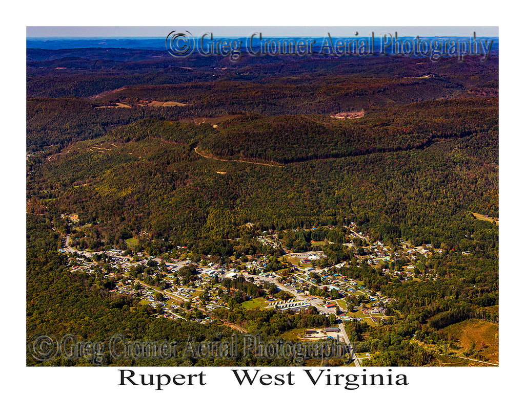 Aerial Photo of Rupert, West Virginia