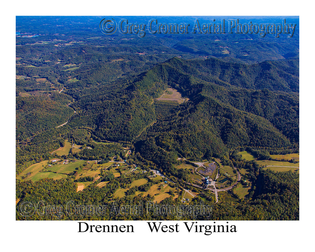 Aerial Photo of Drennen, West Virginia