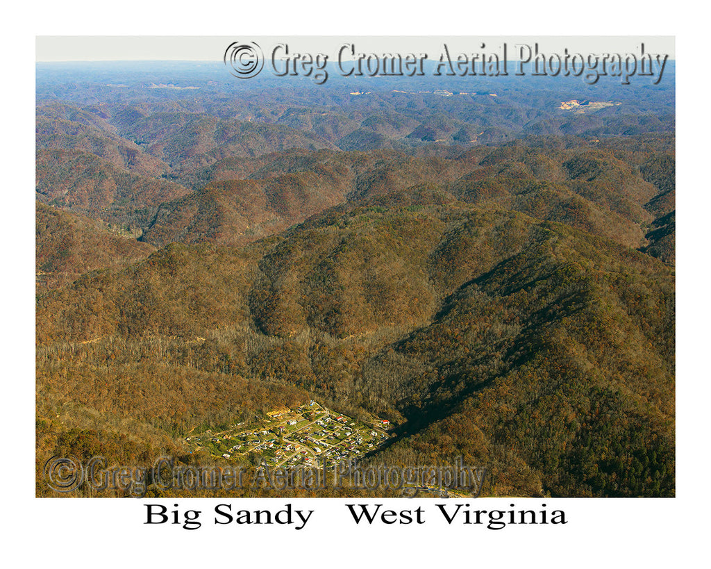 Aerial Photo of Big Sandy, West Virginia