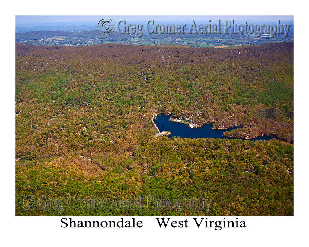 Aerial Photo of Shannondale, West Virginia
