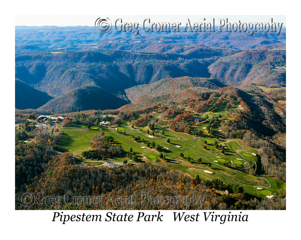 Aerial Photo of Pipestem State Park, WV