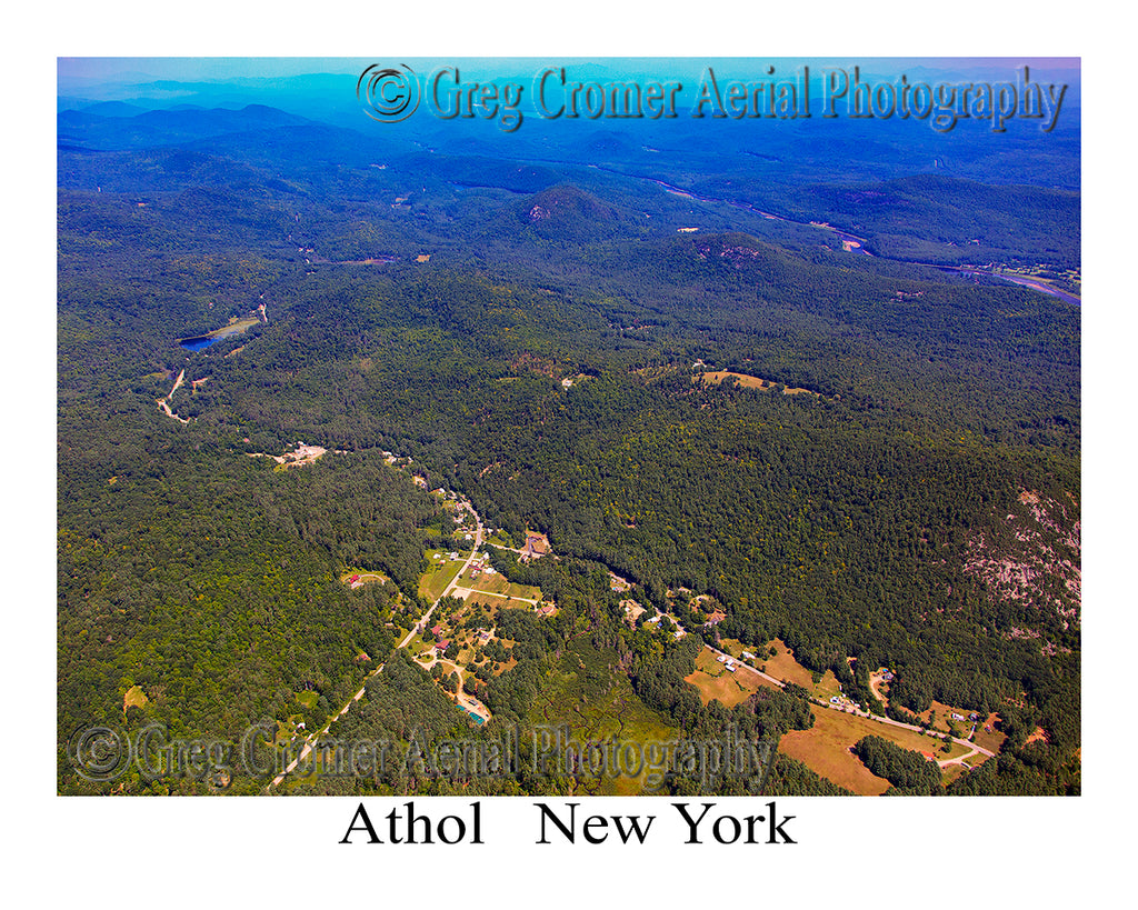 Aerial Photo of Athol, New York