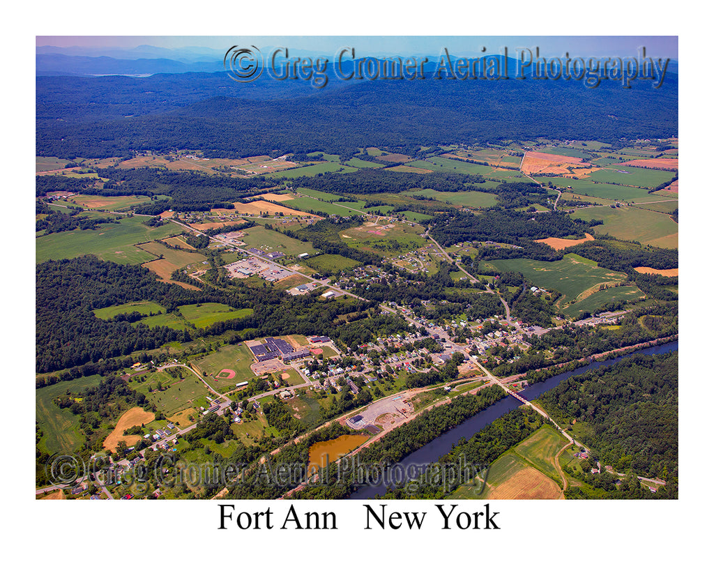 Aerial Photo of Fort Ann, New York