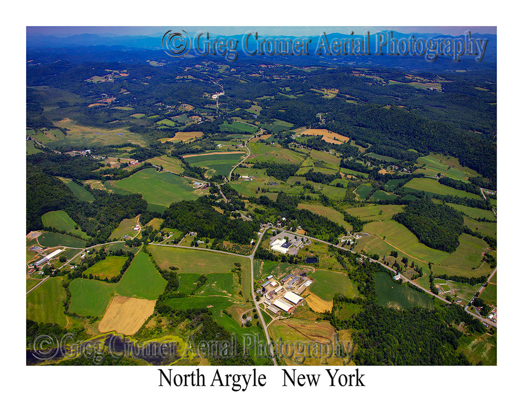 Aerial Photo of North Argyle, New York