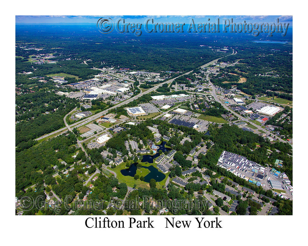 Aerial Photo of Clifton Park, New York