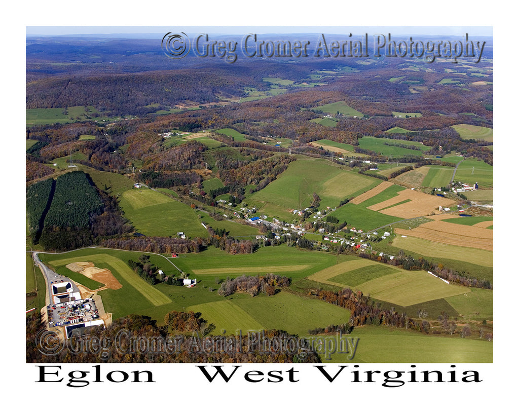 Aerial Photo of Eglon, West Virginia