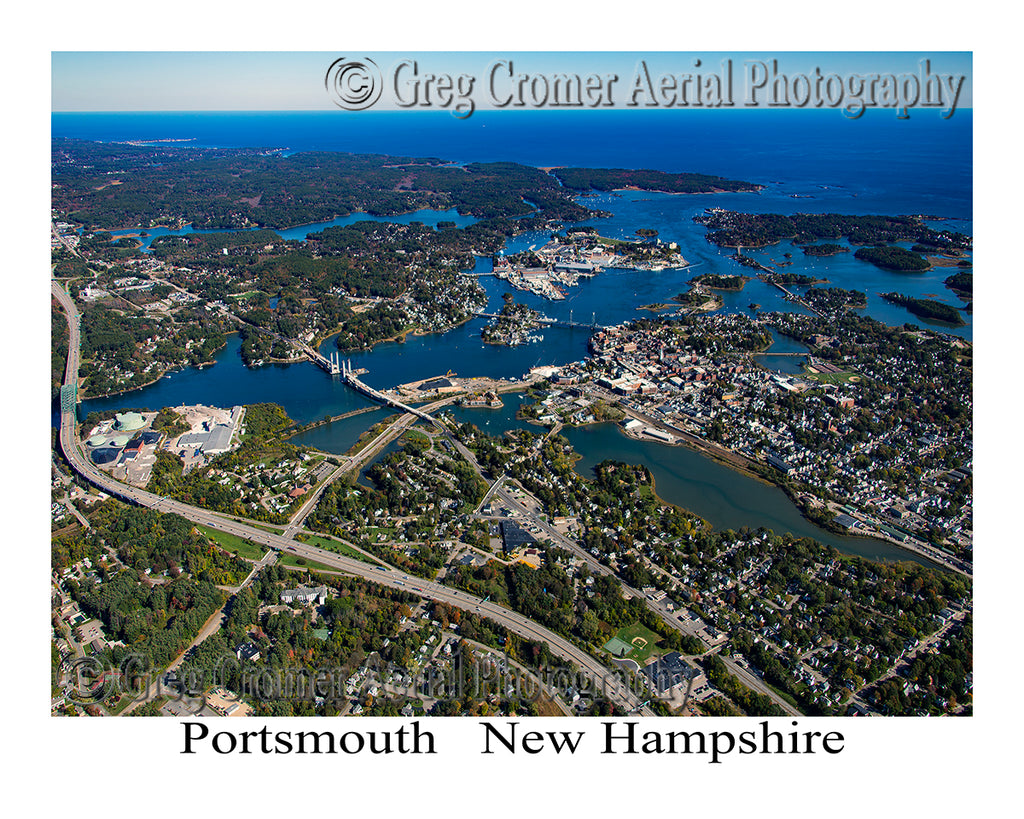 Aerial Photo of Portsmouth, New Hampshire