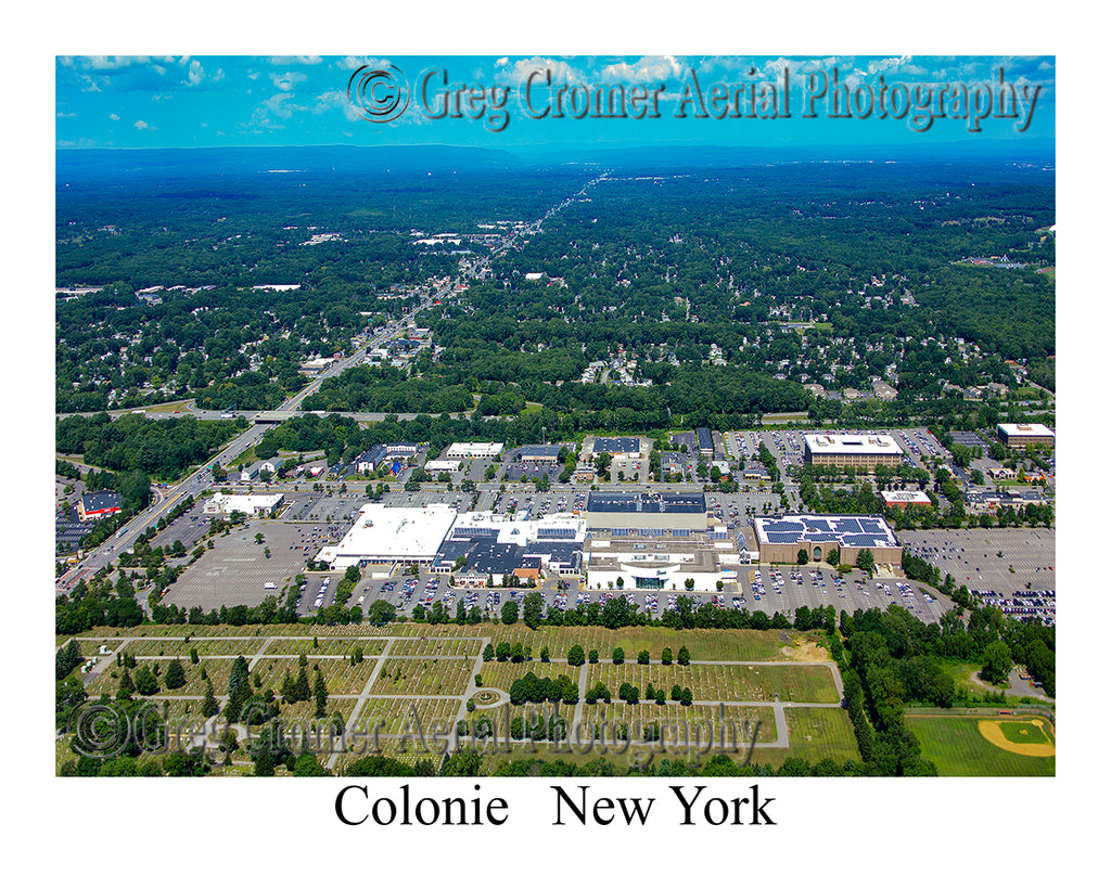 Aerial Photo of Colonie, New York