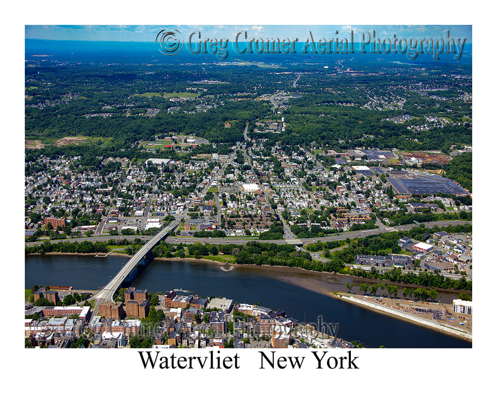 Aerial Photo of Watervliet, New York