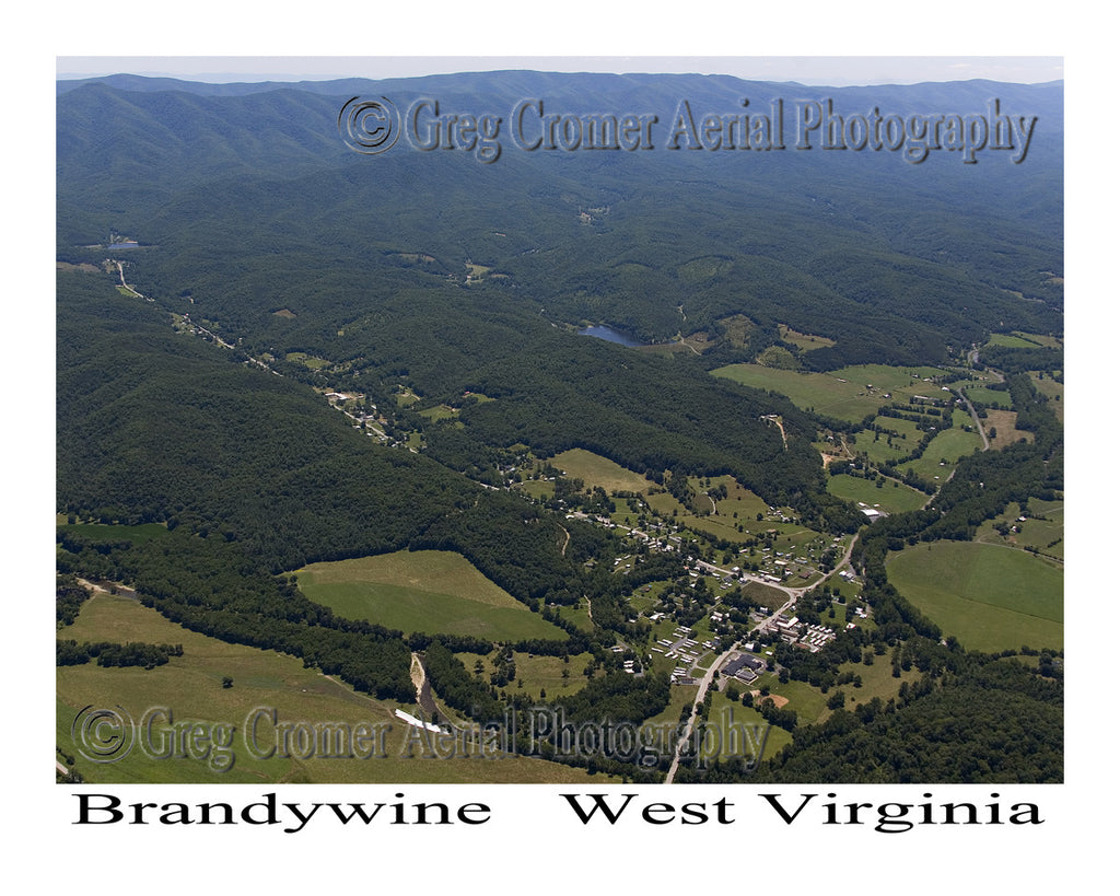Aerial Photo of Brandywine, West Virginia