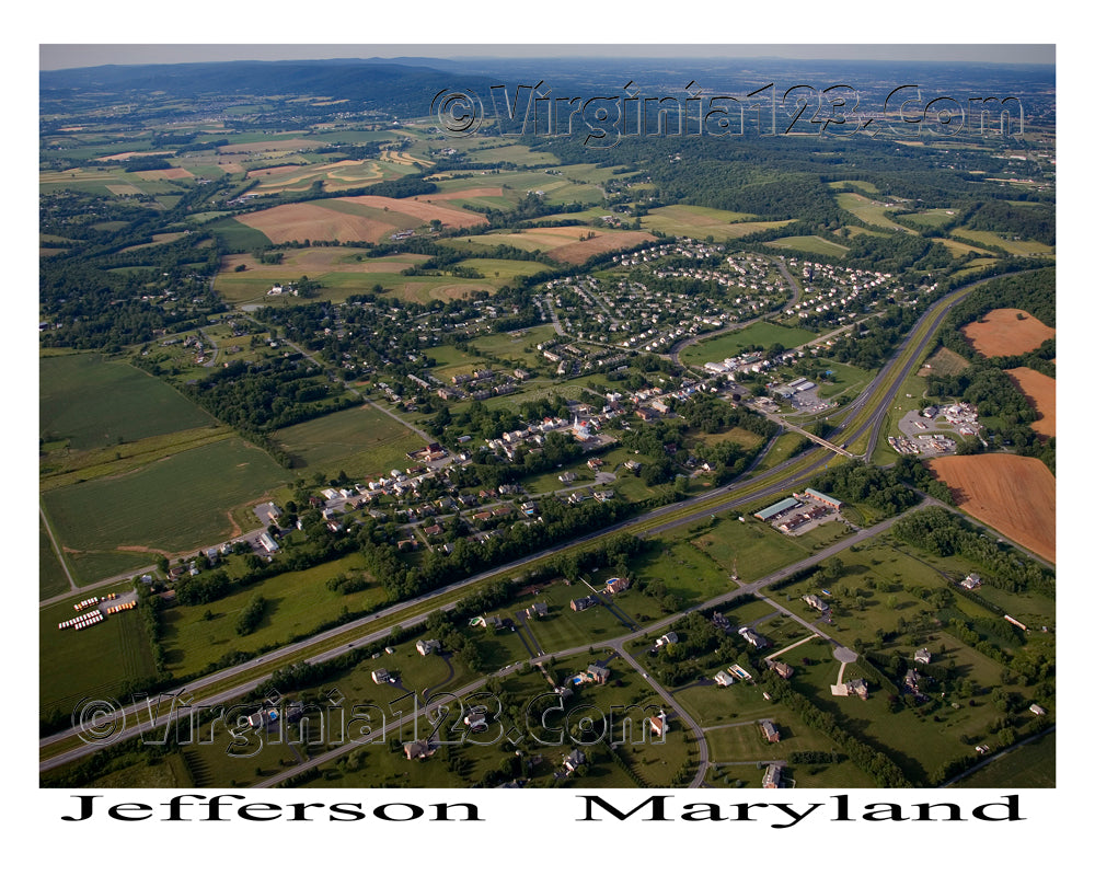 Aerial Photo of Jefferson, Maryland