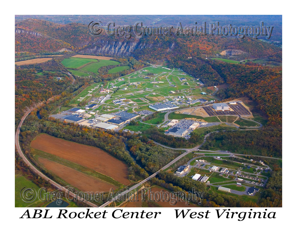 Aerial Photo of ABL Rocket Center - Tucker County, West Virginia