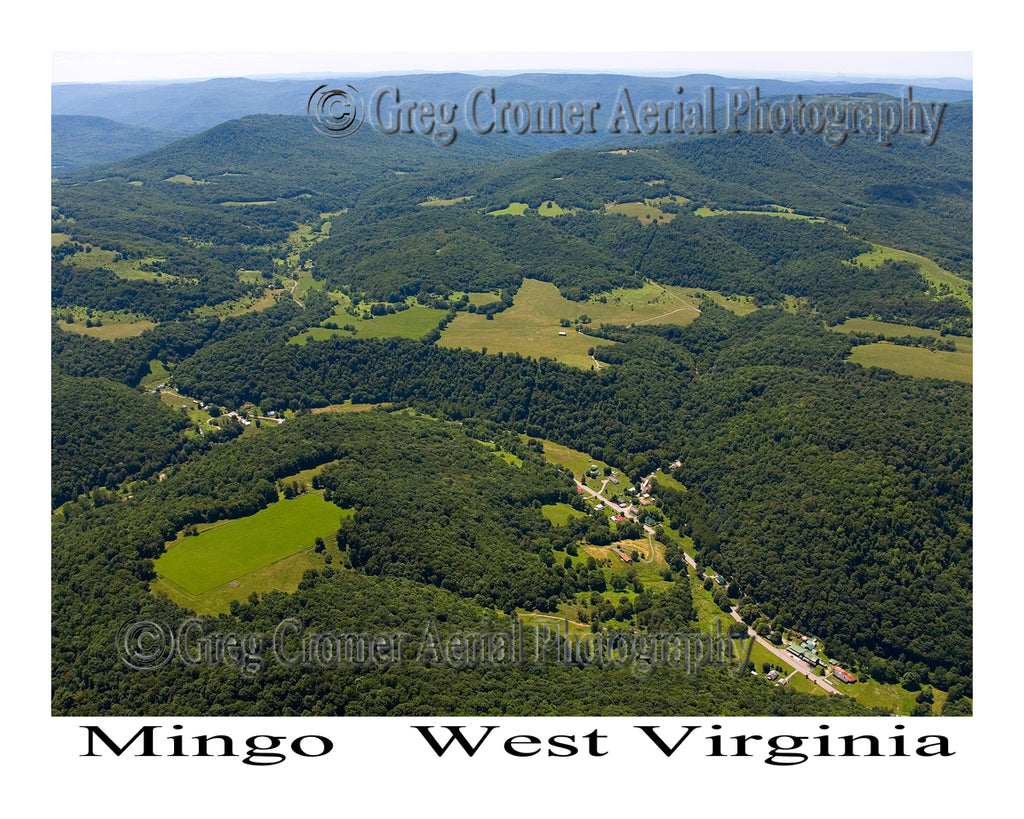 Aerial Photo of Mingo, West Virginia