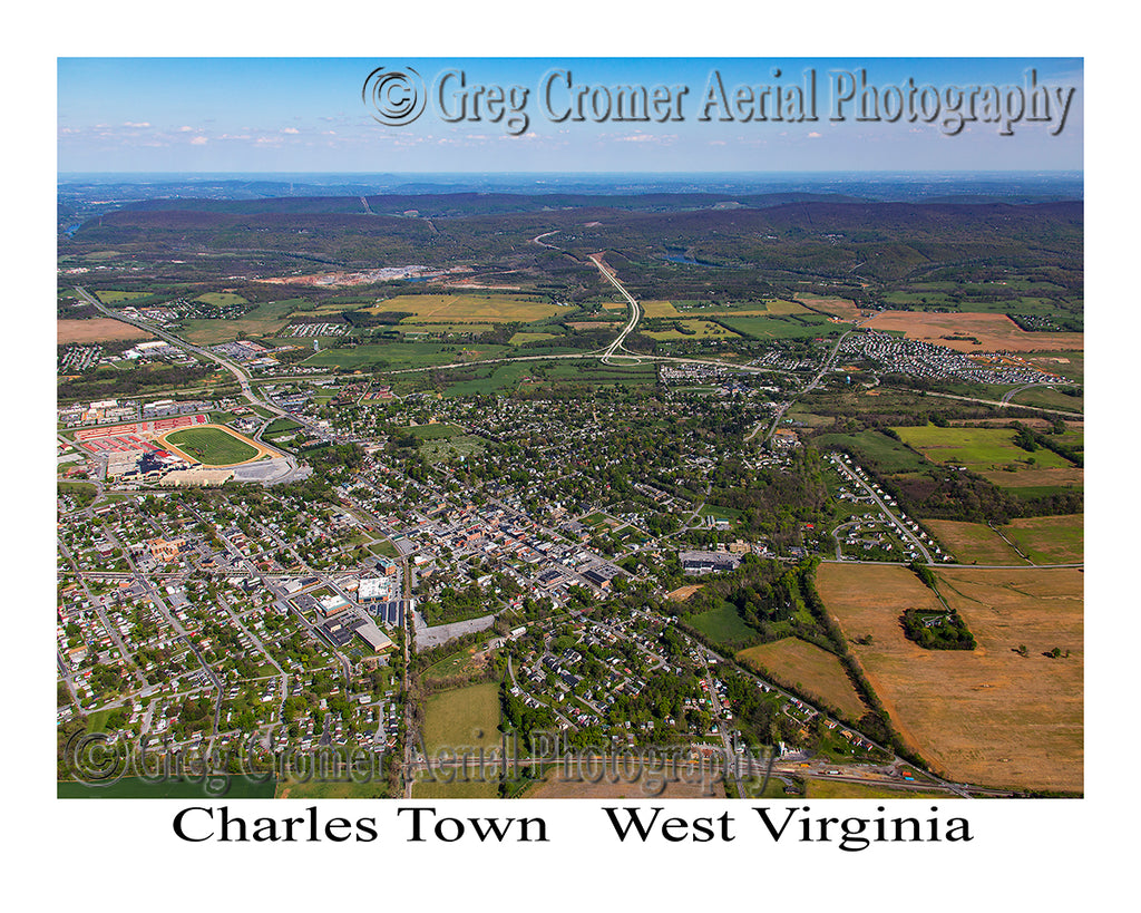 Aerial Photo of Charles Town, West Virginia