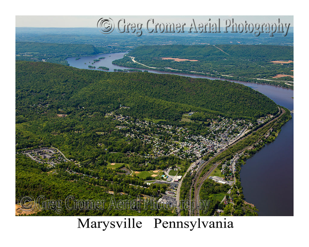 Aerial Photo of Marysville, Pennsylvania