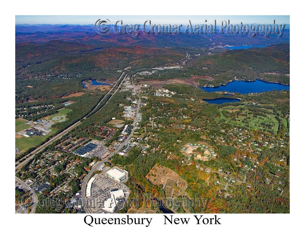 Aerial Photo of Queensbury, New York